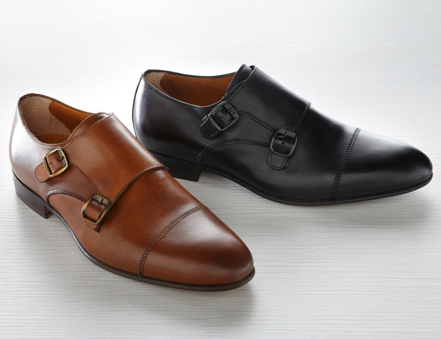 Office Ready Monk Strap Dress Shoes at MYHABIT