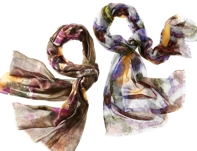 Printed Scarves feat. Saachi at MYHABIT