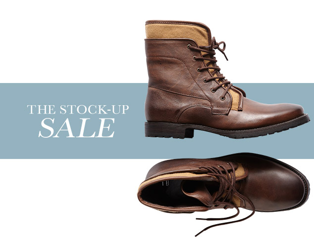Up to 70 Off Lace-up Boots at MYHABIT