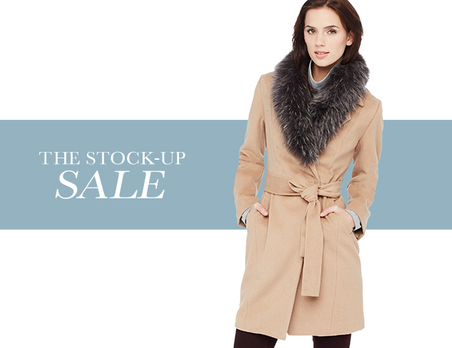 Up to 80 Off Fur & Faux Fur Styles at MYHABIT