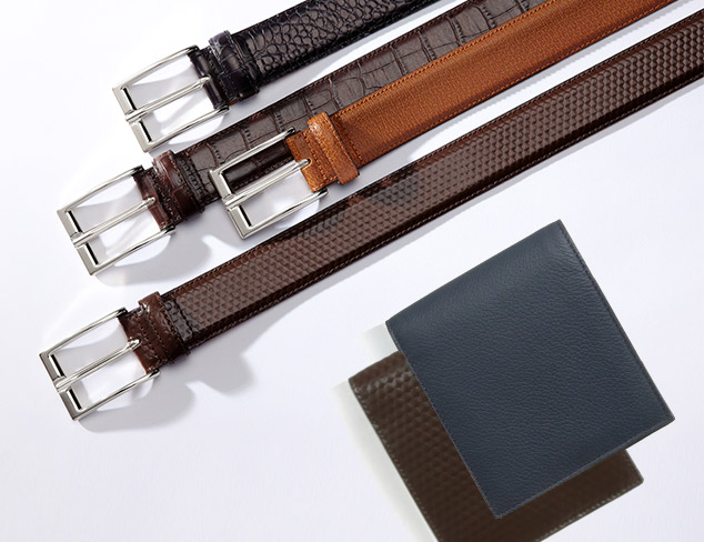 Leone Braconi Belts & Wallets at MYHABIT