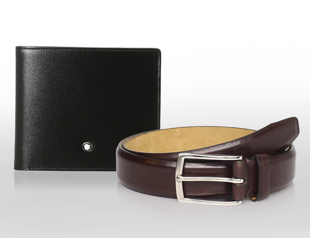 Style Staples Belts & Wallets at MYHABIT