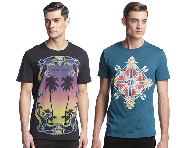 Versace Jeans Graphic T-Shirts at MYHABIT