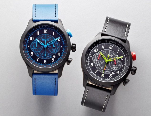 Versus by Versace Soho Leather Watch