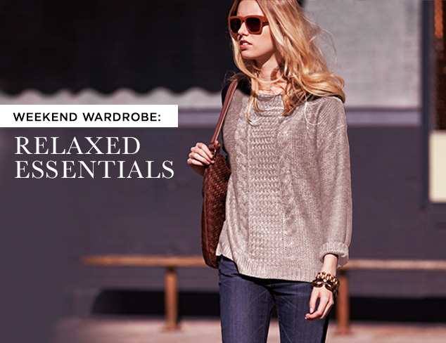 Weekend Wardrobe Relaxed Essentials at MYHABIT