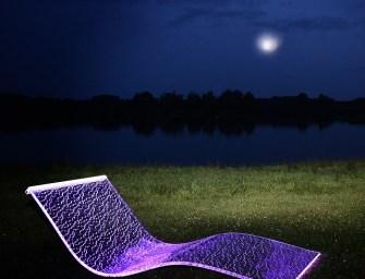 BeMoss Lumiluxe LED Lounge Chair