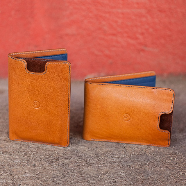Danny P. Pocket Book Leather Wallet with iPhone 5 5S Case_1