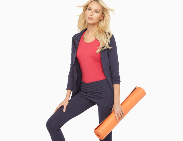 For the Mat Yoga Wear feat. Alo at MYHABIT