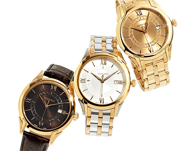 Luxury of Time Watches feat. Versace at MYHABIT
