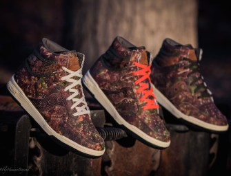 "Packer Shoes x Saucony ""Woodland Camo"" Hangtime Hi"