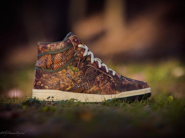 Packer Shoes x Saucony Woodland Camo Hangtime Hi_8