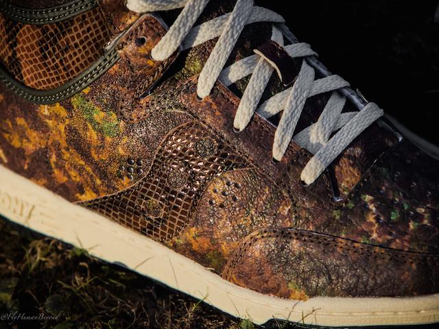Packer Shoes x Saucony Woodland Camo Hangtime Hi_9