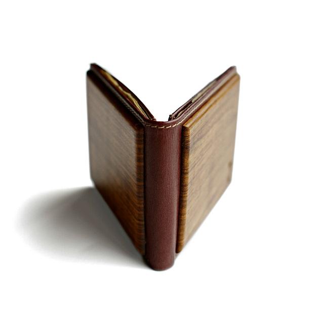 Slim Timber Zebrawood Bifold Wallet_4