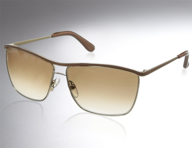 Sunglasses feat. Salvatore Ferragamo at MYHABIT