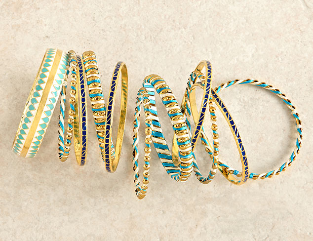 Chamak by Priya Kakkar Bangles at MYHABIT