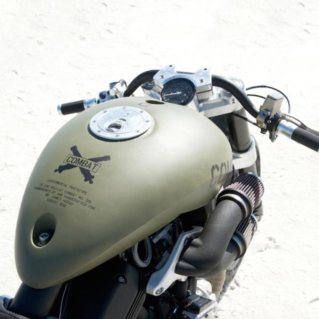 Confederate Motorcycle X132 Hellcat Combat
