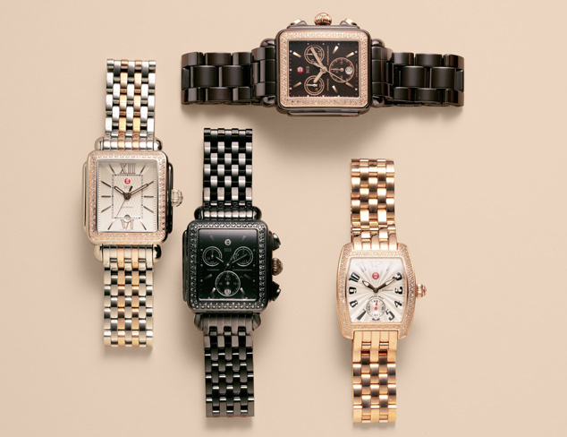 Just In Michele Watches at MYHABIT