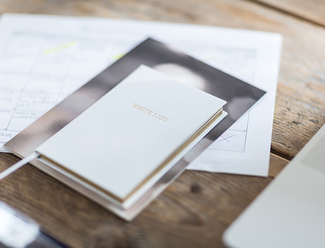 Sloane Stationery White Lies Pocket Notebook
