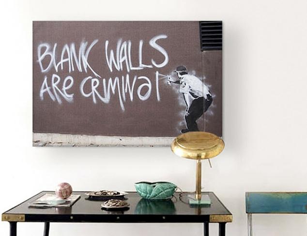 Banksy Artwork at MYHABIT