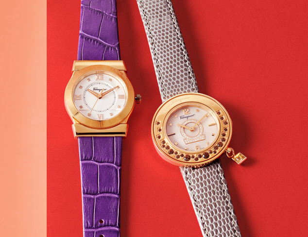 Ferragamo Watches at MYHABIT