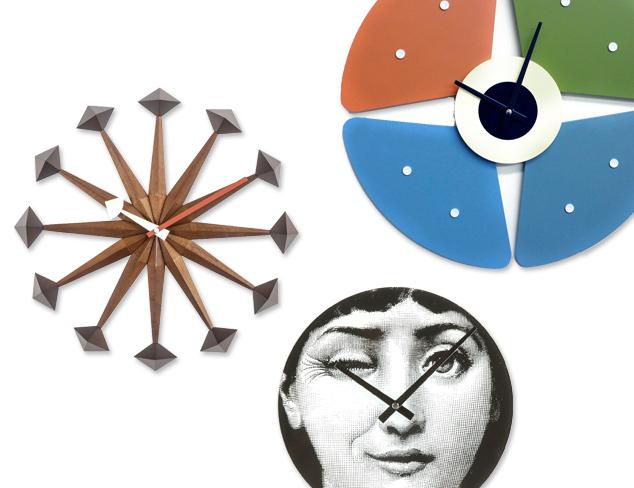 Mid-Century Modern Clocks at MYHABIT