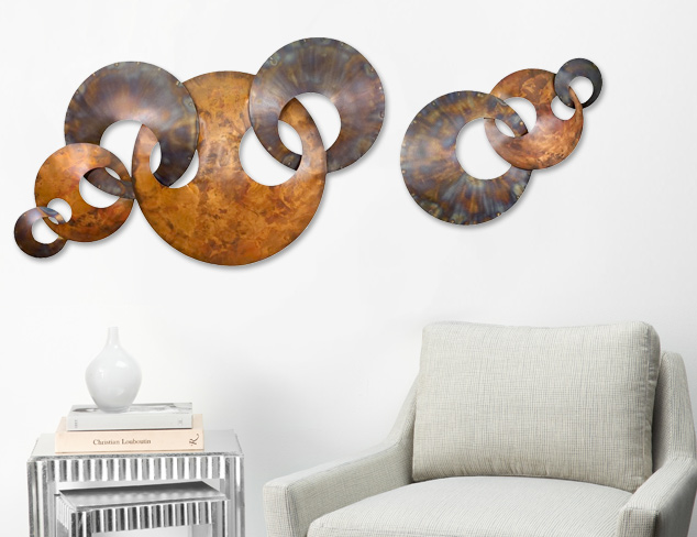C'Jere Wall Sculptures at MYHABIT