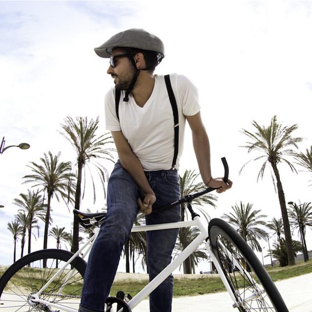 Closca Street Style Foldable Flatcap Urban Bike Helmet