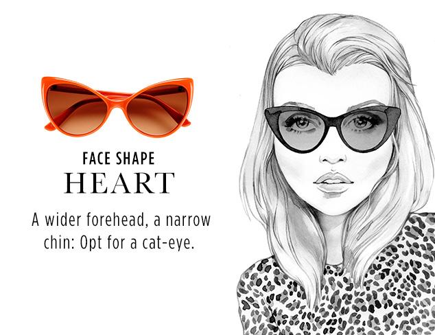 Shades by Face Shape Heart at MYHABIT