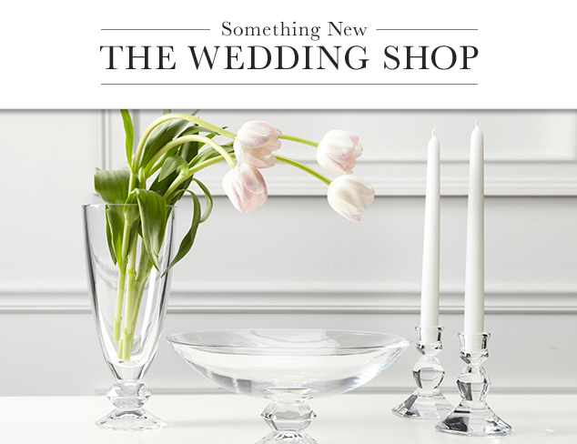 The Wedding Shop Gifts feat. Vera Wang at MYHABIT