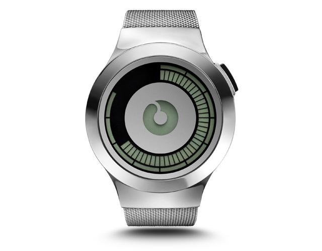 ZIIIRO Saturn Silver Digital Watch_1