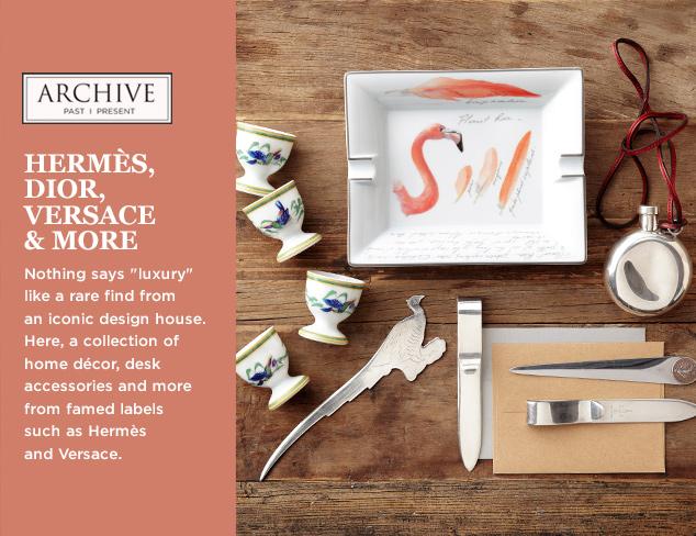 ARCHIVE Hermès, Dior, Versace & More at MYHABIT