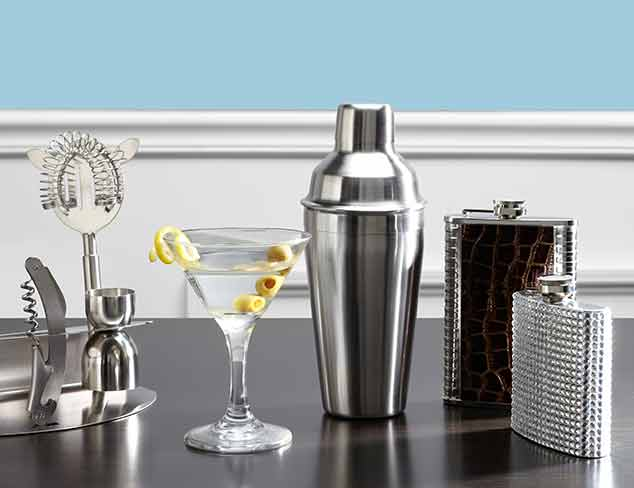 Classic to Quirky Barware at MYHABIT