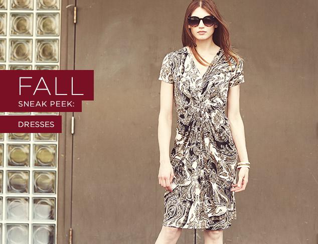 Fall Sneak Peek: Dresses at MYHABIT