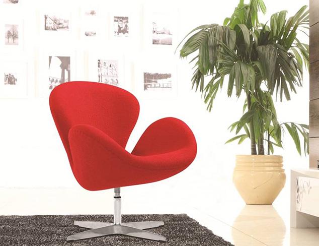 Fine Mod Imports Swan Chair