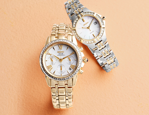 New Arrivals feat. Seiko Watches at MYHABIT