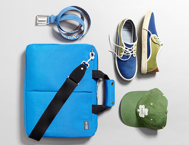 Pop of Color: Blue & Green at MYHABIT
