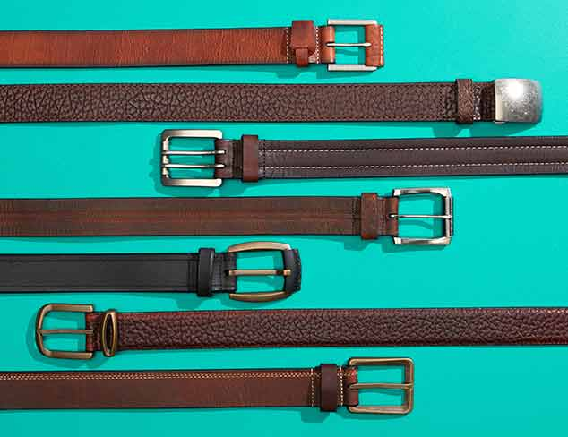Vintage Bison USA Belts at MYHABIT
