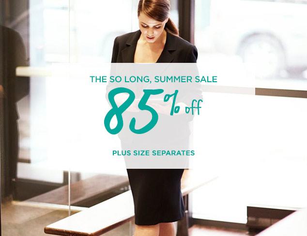 85% Off: Plus Size Separates at MYHABIT
