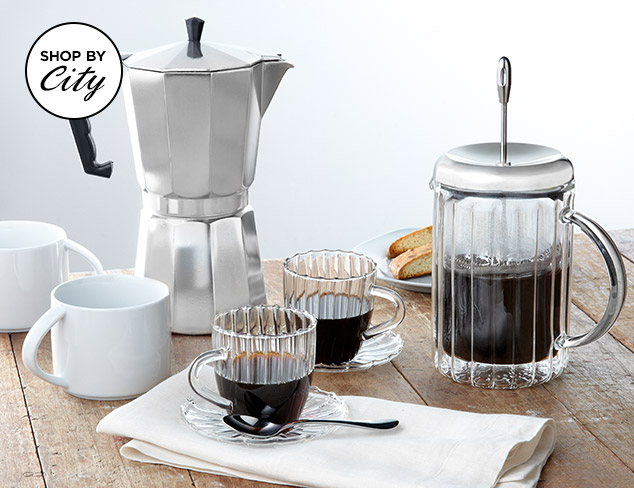 A Perked Up City: Coffee Essentials at MYHABIT