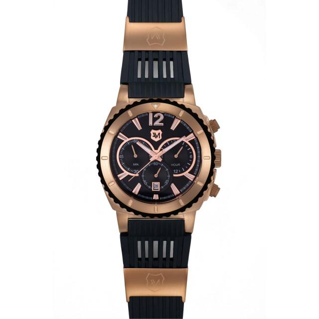 Andrew Marc Heritage Scuba Men's Watch // Black