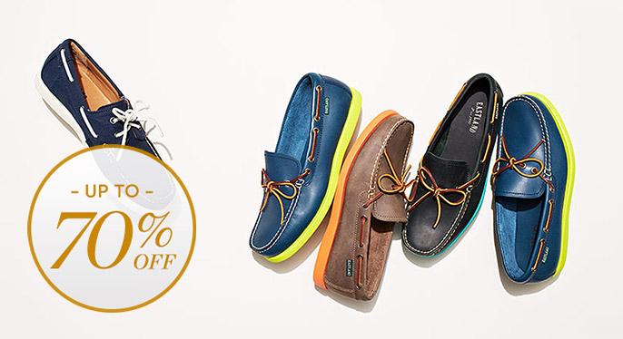 Boat Shoes, Sandals & More at Gilt