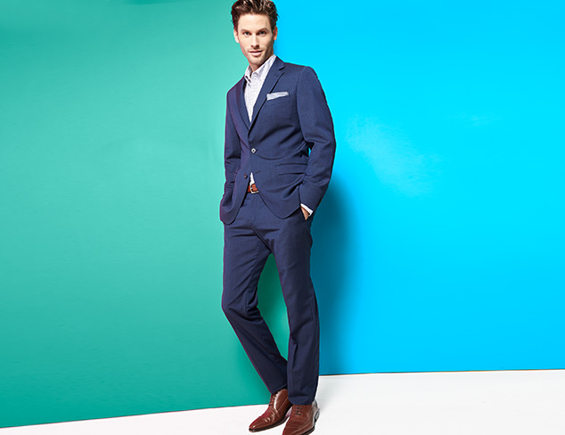 Dress Up: Suits, Blazers & More $249 & Under at MYHABIT
