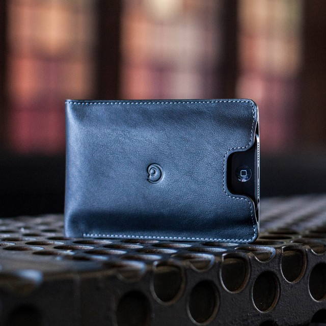 Danny P. Leather Wallet with iPhone 5/5S Case