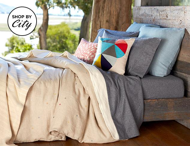 Sleep in Seattle: Coyuchi Organic Bedding at MYHABIT