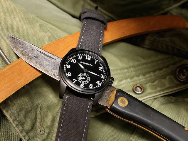 Szanto 1001 Vintage Inspired Military Field Watch