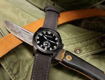 Szanto Military-Inspired Vintage-Modern Watches