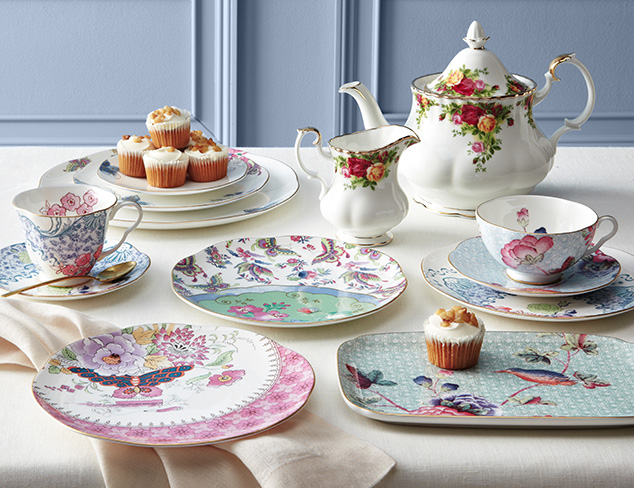 Time for Tea feat. Wedgwood at MYHABIT