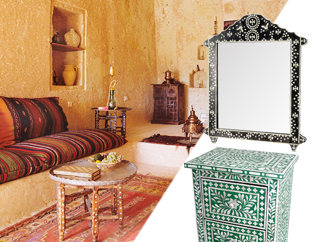 A Journey East: Furniture & Mirrors at MYHABIT