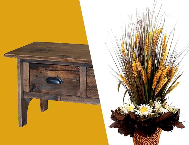 Autumn Update: Furniture & Décor Accents at MYHABIT