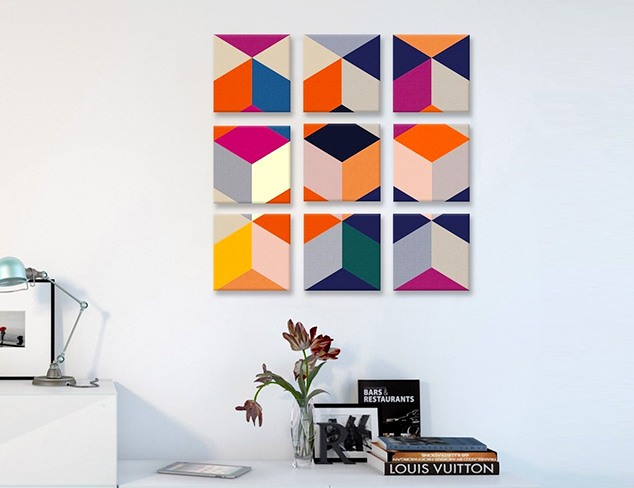 Beauty in Numbers: Artwork Sets at MYHABIT